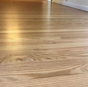 hardwood floor installation by West Coast Floor Company, Napa and Vallejo, CA