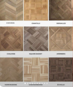 solid wood tiles for parquet flooring
