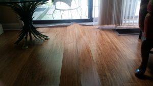 buckling floor boards