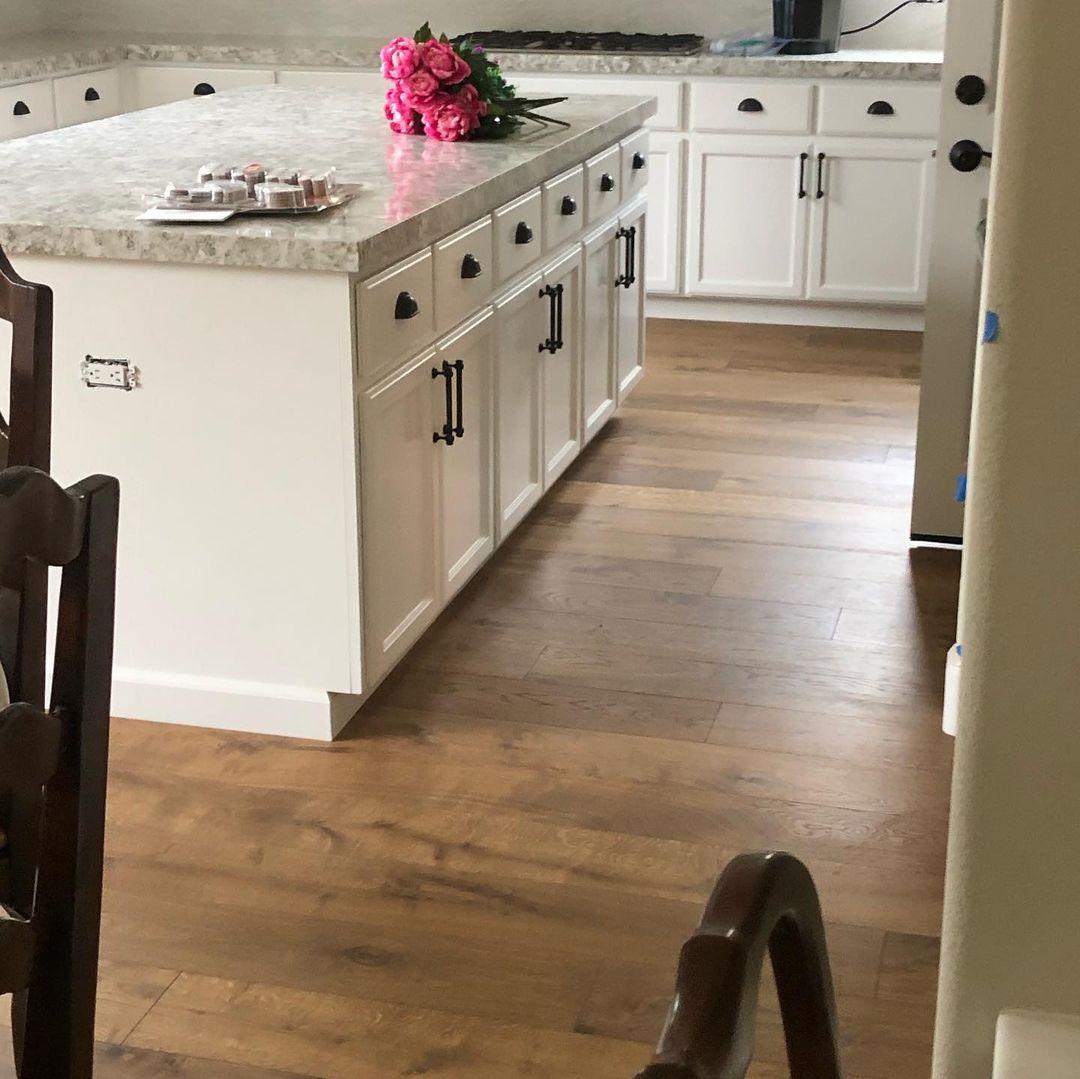 kitchen floor installation