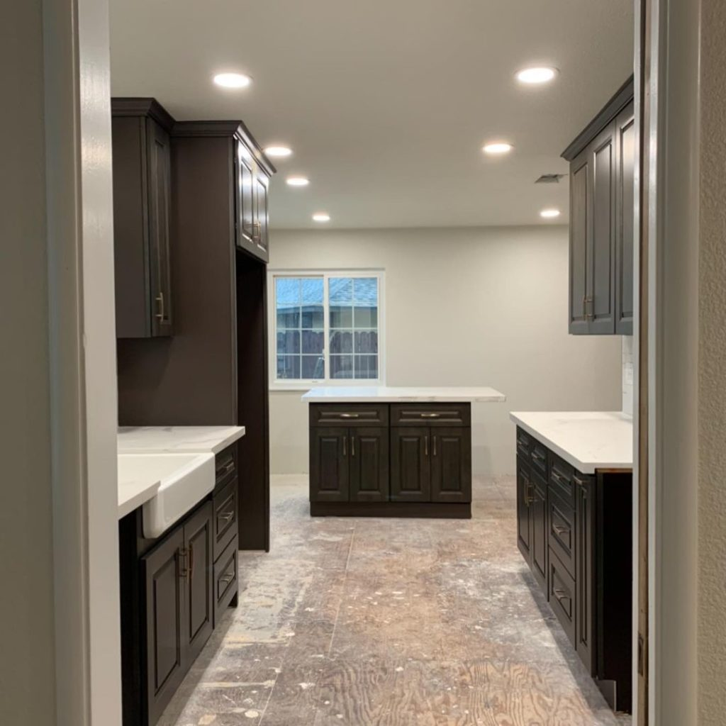 new hardwood floor installation by West Coast Floor Co