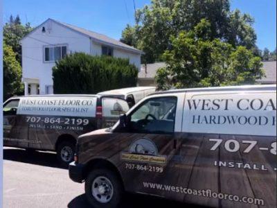 fleet of vans | West Coast Floor Company, Vallejo CA 94590