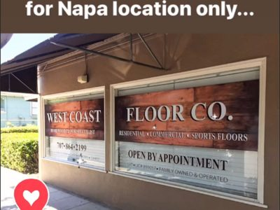 Napa Showroom | West Coast Floor Company, Napa CA 94559